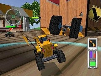 Twisted Metal - Screenshot from Twisted Metal: Small Brawl