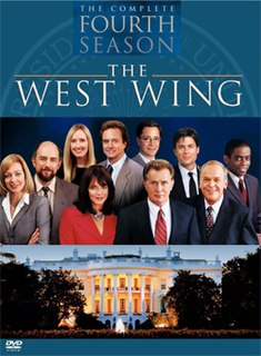 <i>The West Wing</i> (season 4) season of television series