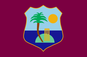 Cricket West Indies - Flag of the West Indies Cricket Board and Team used till mid-2017