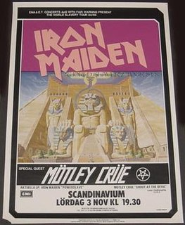 World Slavery Tour 1984–1985 concert tour by Iron Maiden