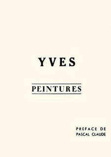 <i>Yves Peintures</i>