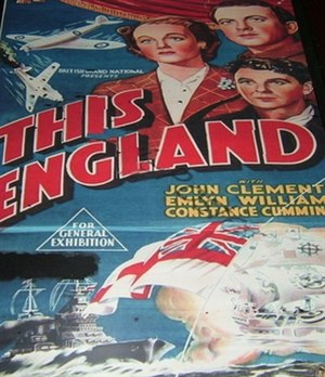 "This England (film) - Image: ""This England"" (1941 film)"