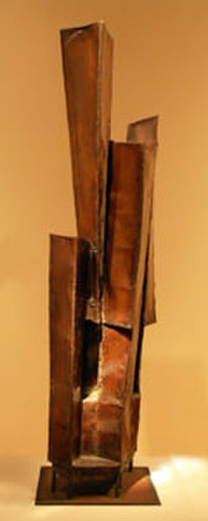 Bumpei Akaji - Bumpei Akaji, Cyparissus, copper and brass, 1968, Hawaii State Art Museum