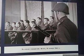 War Crime Trial Minsk 1946