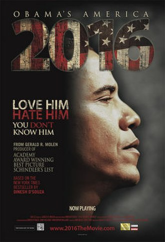 2016: Obama's America - Image: 2016 obamas america