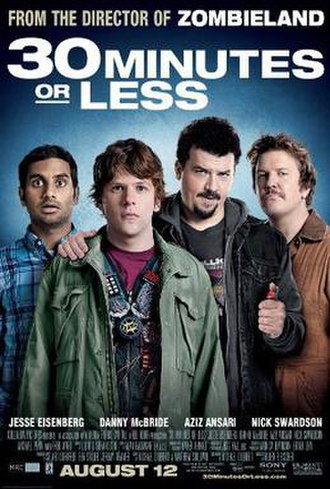 30 Minutes or Less - Theatrical release poster