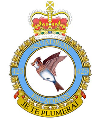 425 Tactical Fighter Squadron - Badge