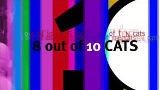 <i>8 Out of 10 Cats</i> British television comedy panel game