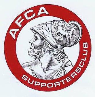 AFCA Supportersclub - AFCA Supportersclub logo