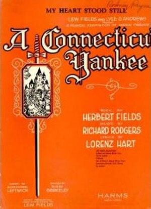 A Connecticut Yankee (musical) - Original 1927 Sheet Music