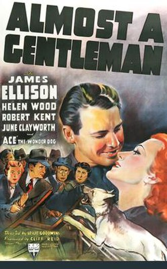 Almost a Gentleman (1939 film) - Theatrical poster for the film