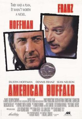 American Buffalo (film) - Theatrical release poster
