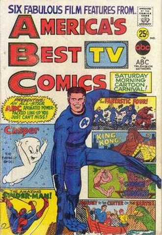 America's Best TV Comics - America's Best TV Comics (one-shot) Cover art main image by Jack Kirby or Larry Lieber and unconfirmed inker
