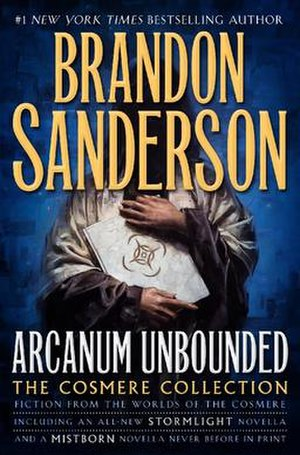 Arcanum Unbounded: The Cosmere Collection - Cover of the hardcover