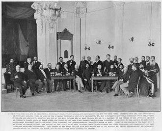 Armenians in Baku - Armenians seen pictured among the other oil barons of Baku.