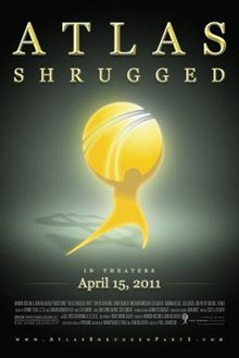 Color movie poster for Atlas Shrugged: Part I