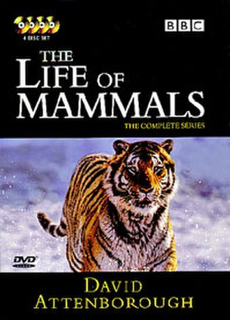The Life of Mammals - Region 2 DVD cover