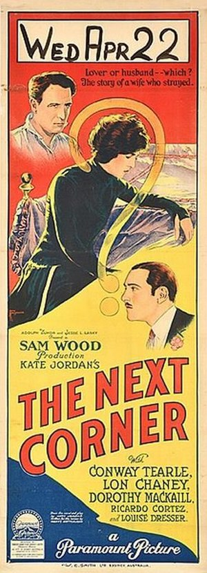 The Next Corner - Australian daybill film poster