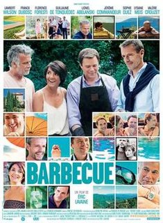 <i>Barbecue</i> (film) 2014 film directed by Éric Lavaine