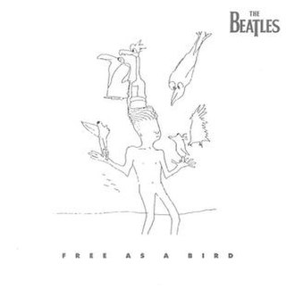 Free as a Bird - Image: Beatles singles freeasabird