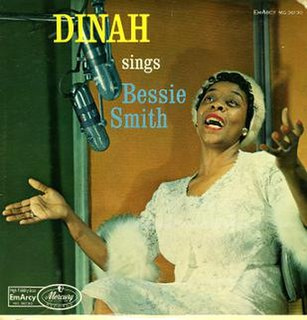 <i>Dinah Sings Bessie Smith</i> 1958 studio album by Dinah Washington