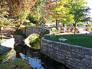 Greeneville, Tennessee - Big Spring in downtown Greeneville