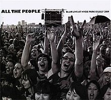 all the people blur live at hyde park wikipedia