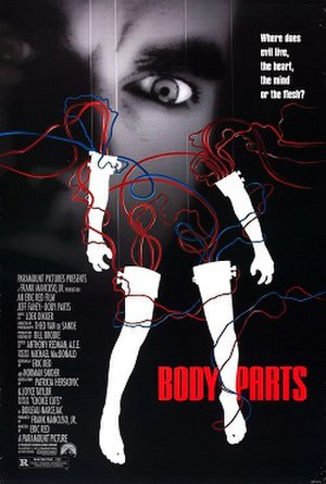 Body Parts (film) - Image: Bodypartsposter