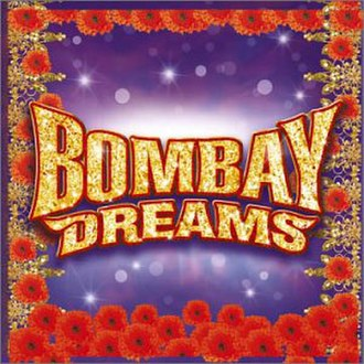 Bombay Dreams - The CD Cover for the 2002 Original London Cast Recording