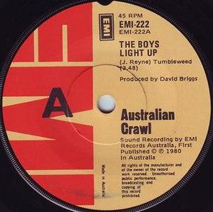 The Boys Light Up (song) - Image: Boys Light Up AC