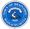 Official seal of Braintree, Massachusetts