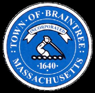 Braintree, Massachusetts - Image: Braintree Seal
