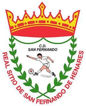 CD San Fernando de Henares - Image: CD San Fernando de Henares