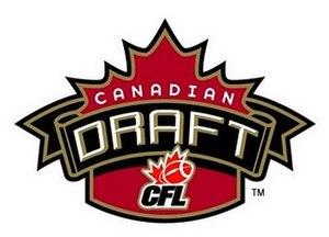Canadian College Draft - CFL Draft logo used until 2012.