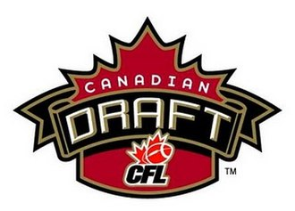 Canadian College Draft - CFL Draft logo used until 2012.