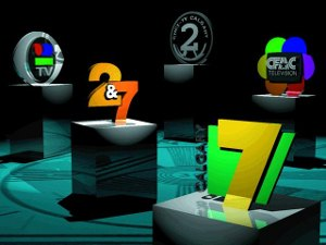 CICT-DT - CICT-TV's logo montage of its different logos over the years, from the station's former website.