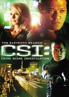<i>CSI: Crime Scene Investigation</i> (season 11) Season of American television series CSI: Crime Scene Investigation