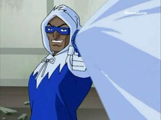Captain Cold - Captain Cold as he appears in Justice League Unlimited.