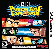 cartoon network punch time explosion wikipedia