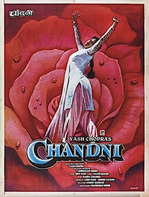 Chandni - Theatrical release poster