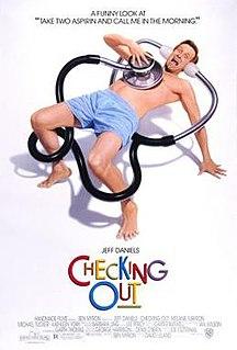 <i>Checking Out</i> (1989 film) 1989 film by David Leland