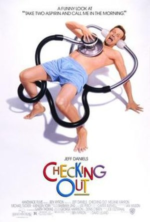 Checking Out (1989 film) - Image: Checking Out Film Poster