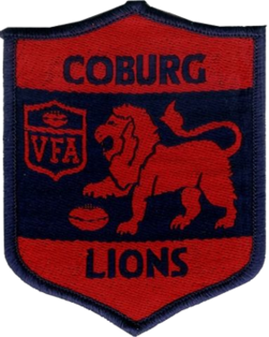 Coburg Football Club - Image: Coburg Lions Old Logo