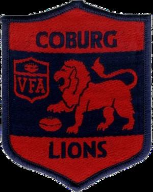 Coburg Football Club - Image: Coburg Lions Old Logo
