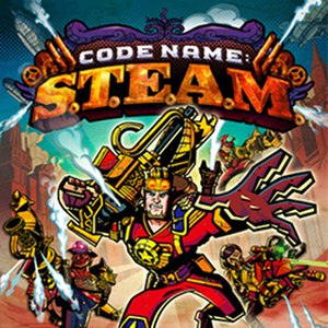 Code Name: S.T.E.A.M. - Packaging artwork released for all territories.