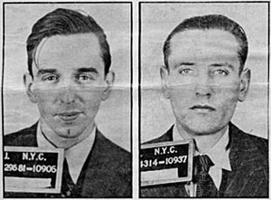 Unternehmen Elster - William Colepaugh (L) and Erich Gimpel (R), following their arrest in December 1944.