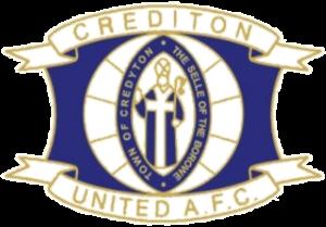 Crediton United A.F.C. - Image: Crediton United A.F.C. logo