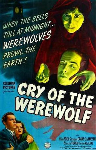 Cry of the Werewolf - Image: Cry of the werewolf poster