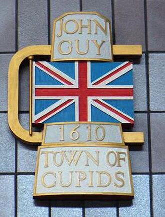 Cupids - Image: Cupids, Newfoundland and Labrador (town seal)