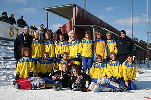 GT-76 - Team B92 after a district championschips-final. The photo is taken in early 2006 by Thomas Bergstrand.
